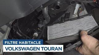 Volkswagen Touran - Changer le Filtre d'Habitacle