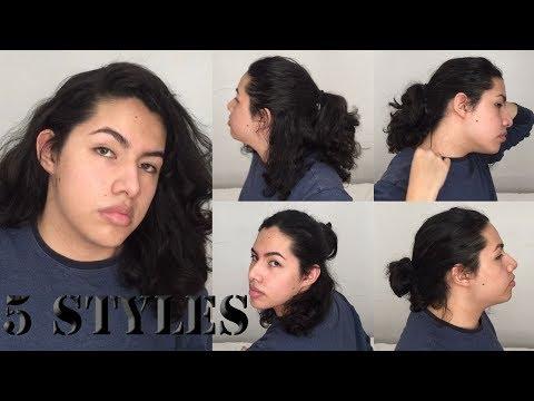 5 EASY Long Hairstyles 2018 | MEN'S HAIR