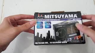 Review Radio (Fm, Am, Sw) + Mp3 player - Mitsuyama