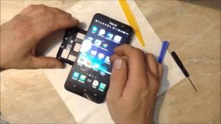 видео Ремонт ASUS PadFone 2: замена стекла экрана, дисплея, аккумулятора, разъема USB гнезда зарядки