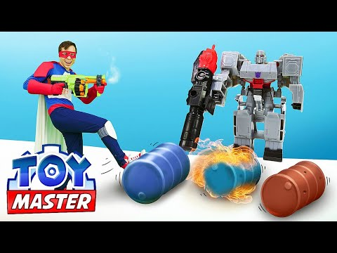 Игры для мальчиков - Новый Робот Трансформер! Автобот или Десептикон? - Видео шоу Той Мастер.