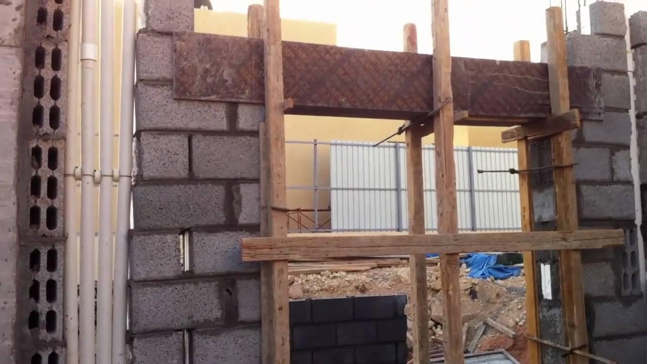 مراحل بناء المنزل 17 Youtube