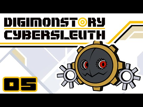 What's In The Mirror? - Let's Play Digimon Story Cyber Sleuth - Gameplay Part 5