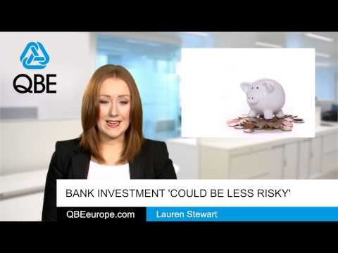 Bank investment 'could be less risky'