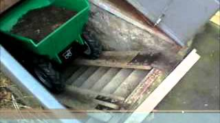Electric Wheelbarrow By Muck Truck