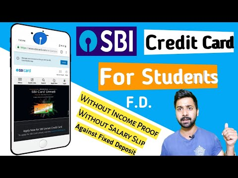 SBI Unnati Credit Card Full Details Benefits Charges|सभी को मिलेगा SBI क्रेडिट कार्ड फ़्री में! 🤩