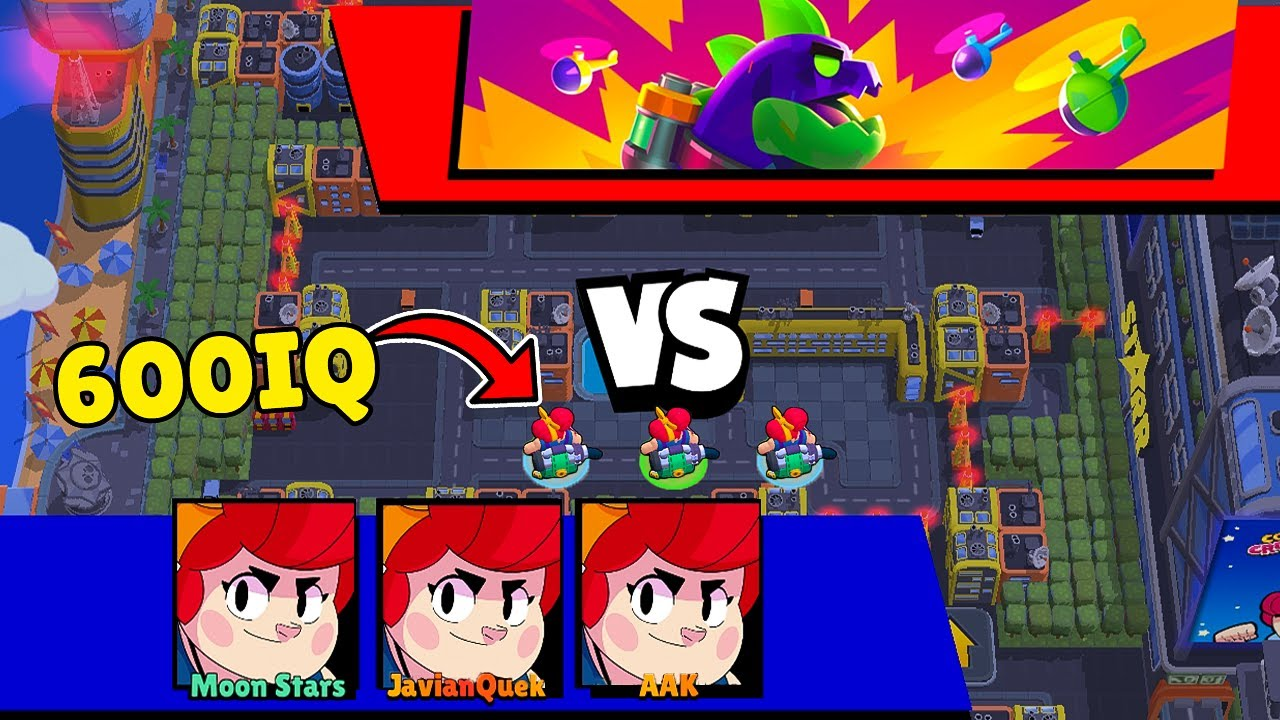 3 PAMS *BROKEN* MONSTER MAP! | Brawl Stars Funny Moments, Glitches & Fails #164