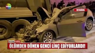 Beyoğlu Piyalepaşa'daki kaza anı!