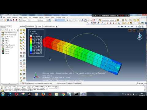 SIMULIA How-to Tutorial for Abaqus | Static Analysis of a 3D Beam Frameиз YouTube · Длительность: 56 мин28 с