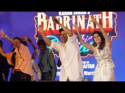 Varun Dhawan & Alia Bhatt At Kala Ghoda Arts Festival 2017 | Badrinath Ki Dulhania Promotion