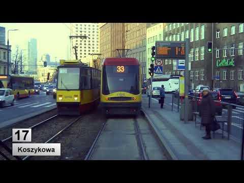 Tramwaje Warszawa linia 17