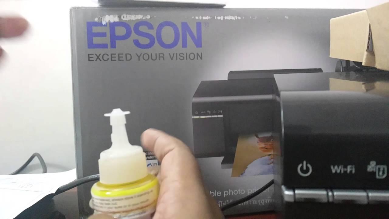 Epson L805 Printer Daftar Harga Terbaru Dan Terlengkap Indonesia Mainboard Wifi Ink Filling And Setup