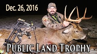 Public Land Buck - Urban Zone Bowhunt | Midwest Whitetail