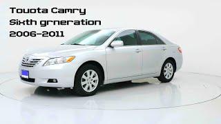 Toyota Camry (2006-2011) Тойота Камри - обзор и характеристики автомобиля