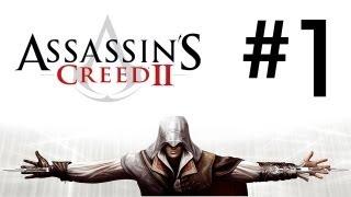 Assassin's Creed 2 Walkthrough: Part 1 - Escape Abstergo - [HD] Gameplay