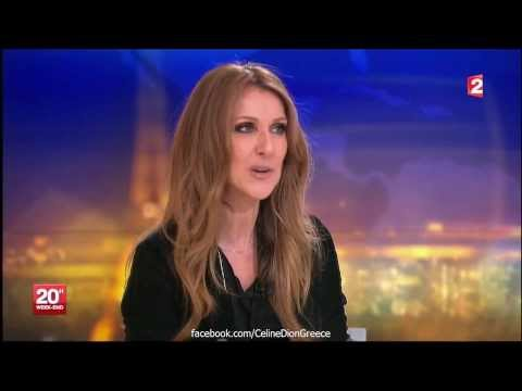Celine Dion Interview on France 2 News (16/11/2013 HD)