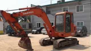 Korean used Daewoo S55V Excavator - Autowini.com(korealee-003)