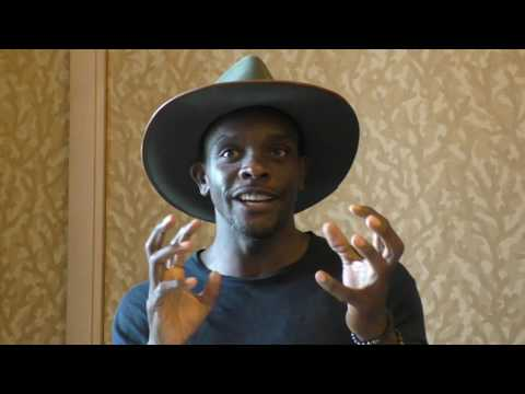 SDCC 2016:  Gotham  Chris Chalk