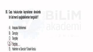 Türkiye Geneli Deneme Sınavı Genel Yetenek - Genel Kültür Vatandaşlık Soru Çözümleri