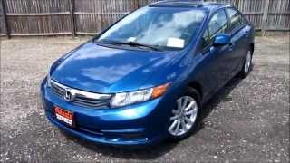 2012 Honda Civic EX Walkaround, Start up, Tour and Overview