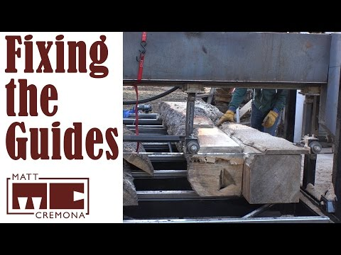 Fixing the Guides & Side by Side Milling