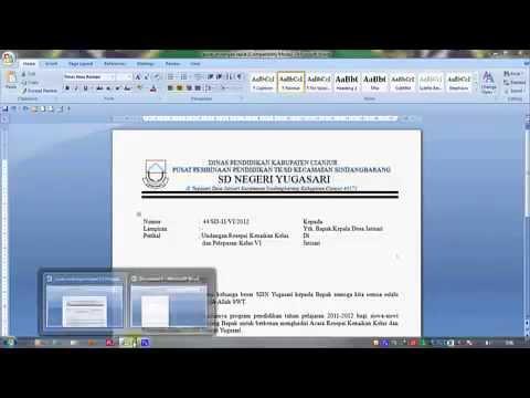 Tutorial pembuatan surat resmi (pemula) AiBi Comp