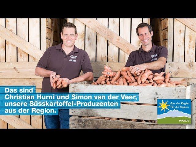 In den Süsskartoffeln: Unser Partner Batati kultiviert im Seeland ein exotisches Nischenprodukt.