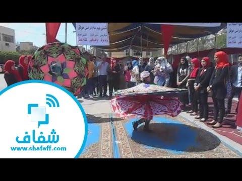شفاف | طفل يرقص التنورة باحتراف في حفل استقبال طلاب جامعة المنصورة thumbnail