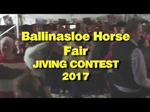 Ballinasloe Horse Fair Jiving Contest 2017