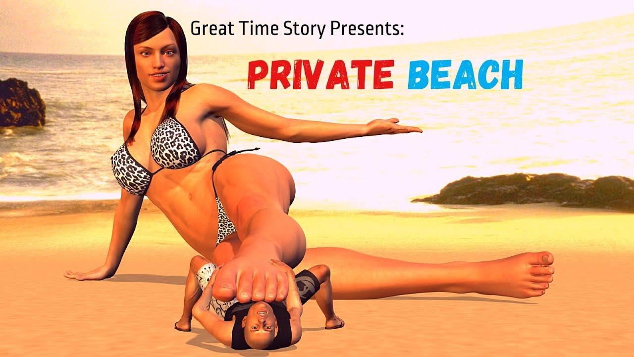 Download PRIVATE BEACH (GIANTESS COMIC)