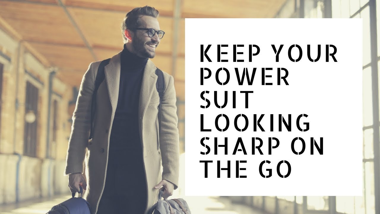 6 SUIT BAGS TO KEEP YOUR POWER SUIT LOOKING SHARP ON THE GO - YouTube 13903f7a96d2e