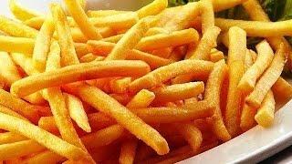 Как приготовить вкусный Картофель Фри! Рецепт Картофель Фри!
