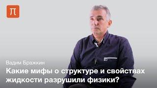 высокие давления и теория жидкости - Вадим Бражкин