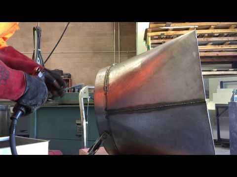 Welded ventilation ducts
