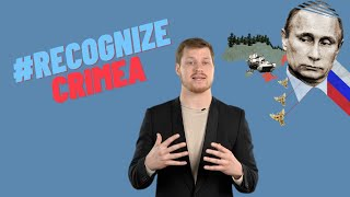 Why it's time to #RecognizeCrimea