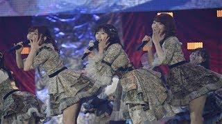 人気アイドルグループ・AKB48が8日、千葉・幕張メッセ国際展示場で行わ...