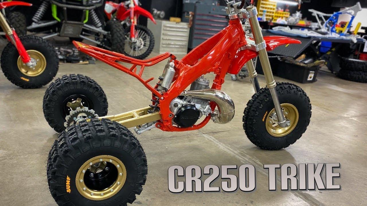 ATC250R - MODERN CR250 TRIKE Build Assembly part 1