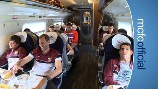 INSIDE CITY 75 - On the train to Wembley