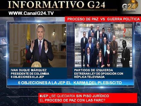 #JEP DUQUE ANTE UN PROCESO DE PAZ O UNA GUERRA POLÍTICA