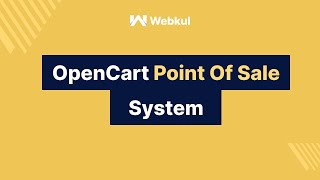 Opencart point of sale system ( https://store.webkul.com/opencart-point-of-sale-system.html ) refers to a where the merchant can create order from...