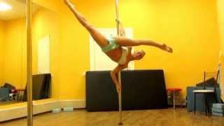 Olga Koda vs Dmitry Politov - pole dance madness 2014