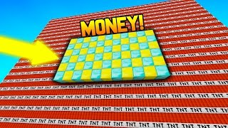 THIS IS INSANITY!! | Minecraft TNT WARS + MONEY WARS!