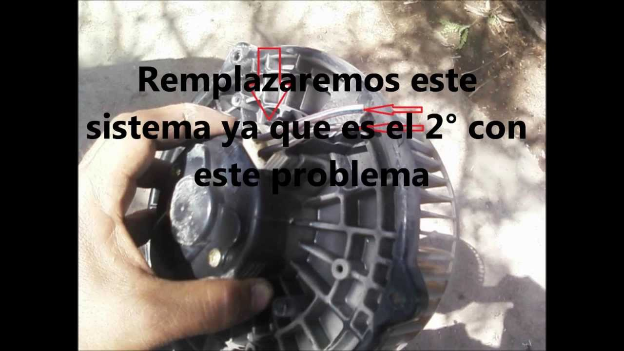 REMPLAZO DE VENTILADOR interior del Aire Acondicionado ...
