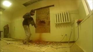 как сделать оконный проем в кирпичной стене