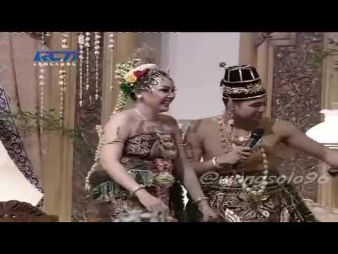 Lagu Kamulah Takdirku duet Raffi Ahmad Nagita Slavina di akhir acara