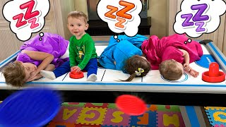 Five Kids Pretend Play with Baby Alex + more Children's Songs and Videos