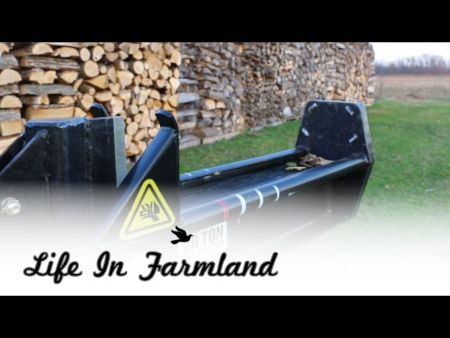Updated Review of County Line / Speeco 28 Ton Log Splitter a