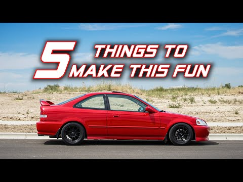 5 Things To Make Your Underpowered Honda More Fun To Drive