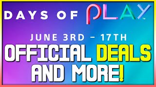 Ps4 Days Of Play Sale  Details Revealed - Ps4 Game Deals, Insane Ps Now Deal + More