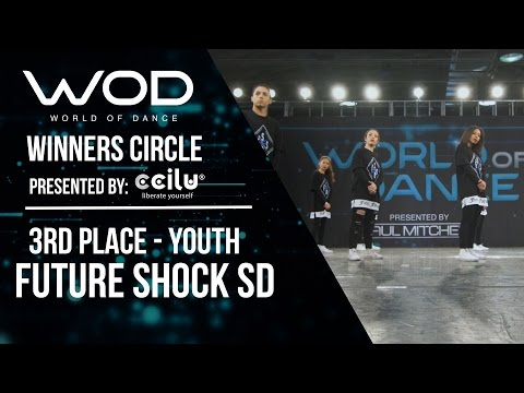 Future Shock SD  3rd Place Youth  World of Dance Los Angeles 2017  Winners Circle  WODLA17